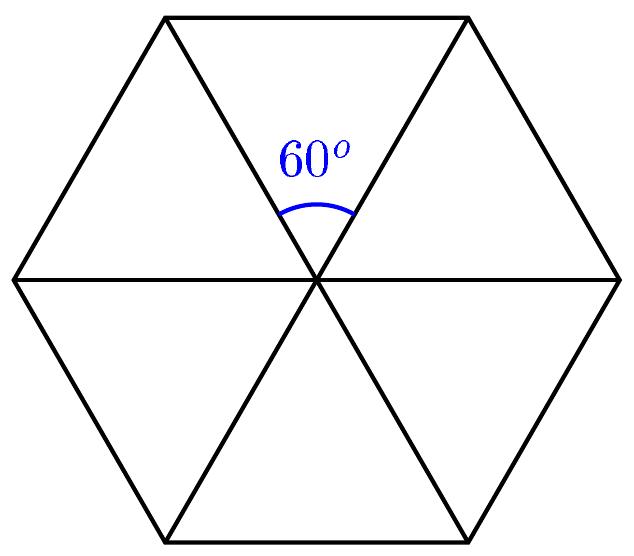 Workshop: Triângulo Equilátero e Hexágono Regular